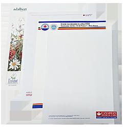 Hlavičkové papíry / dopisy / formuláře / tiskopisy